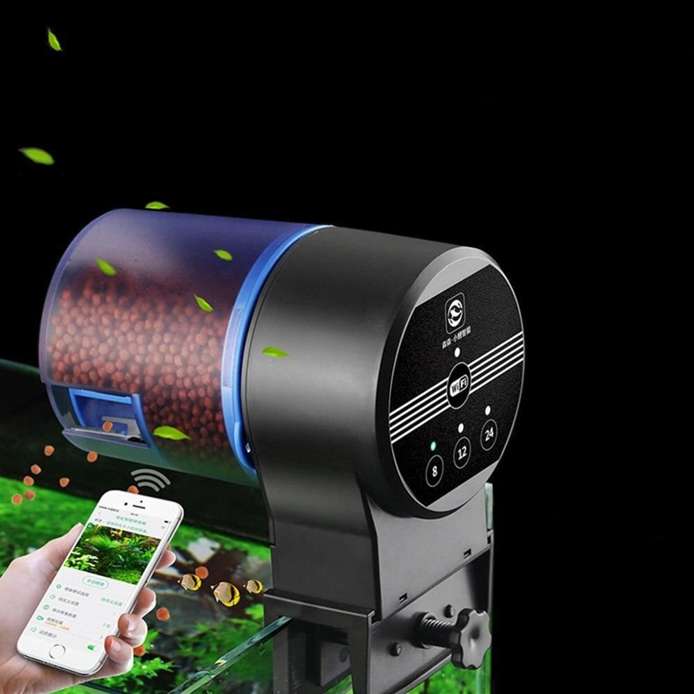 NCFAQUA программируемый аквариум автоматическая кормушка для рыбы Wi-Fi управление Авто рыба еда диспенсер электронный таймер кормушка для аква...