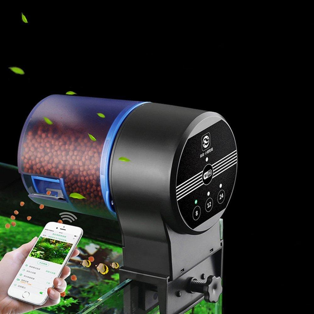 NCFAQUA Programmable Aquarium distributeur automatique de nourriture pour poissons WIFI contrôle automatique poisson nourriture distributeur électronique minuterie chargeur pour Aquarium