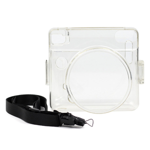 Image 3 - Besegad Transparent Plastic Protective Case Cover with Adjustable Shoulder Strap for Fujifilm Instax Square SQ6 SQ 6 Camera