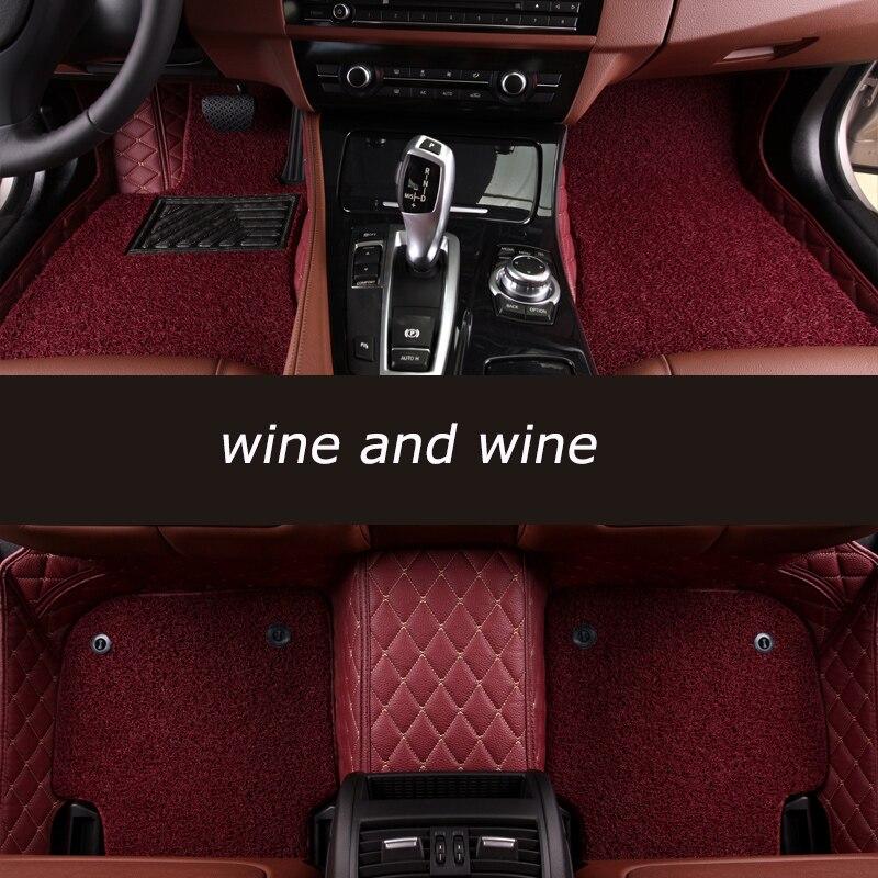 kalaisike Custom car floor mats For Porsche All Models Cayman Cayenne Macan Panamera Boxster 718 car styling accessorieskalaisike Custom car floor mats For Porsche All Models Cayman Cayenne Macan Panamera Boxster 718 car styling accessories