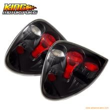 Подходит 2001-2003 Dodge Caravan задние фонари Black лампы Пар США отечественные