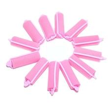 14 Pcs /12pcs/10pcs/8pcs/6pcs Hair Curler Magic Sponge Foam Cushion Hair Styling Rollers Curler Twist Tool for Women Girls 12pcs magic sponge foam cushion hair styling rollers curlers twist tool salon pink