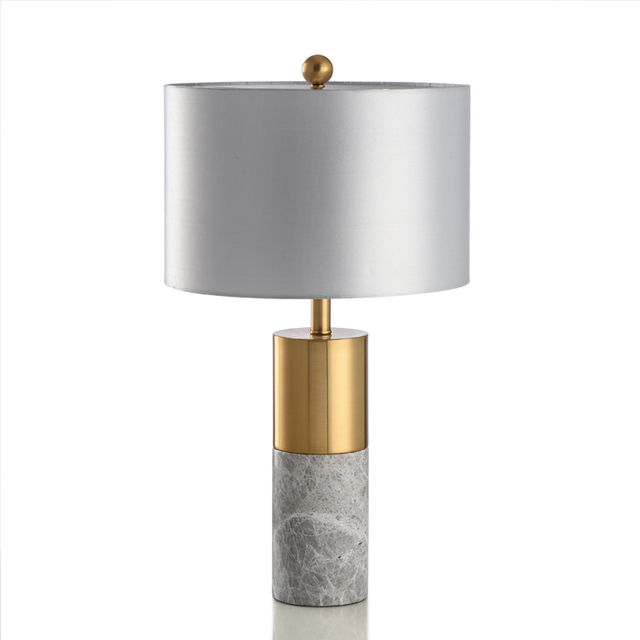 Modern Design Marble Desk Lamp Bedside Bedroom Lamp Designer Style Led  Sample Room Desk Lamp