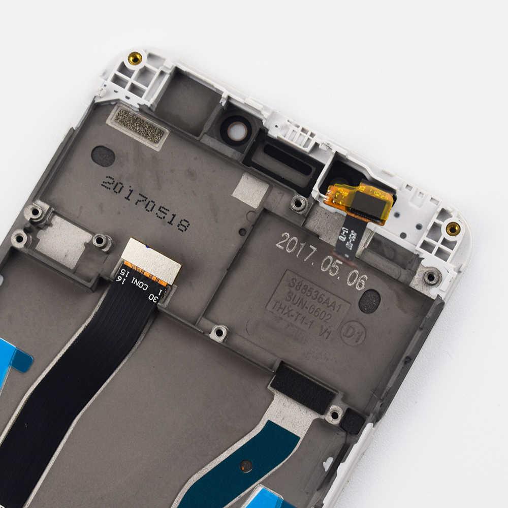 ل شاومي Redmi 4X شاشة الكريستال السائل مجموعة المحولات الرقمية لشاشة تعمل بلمس مع إطار شاشة استبدال