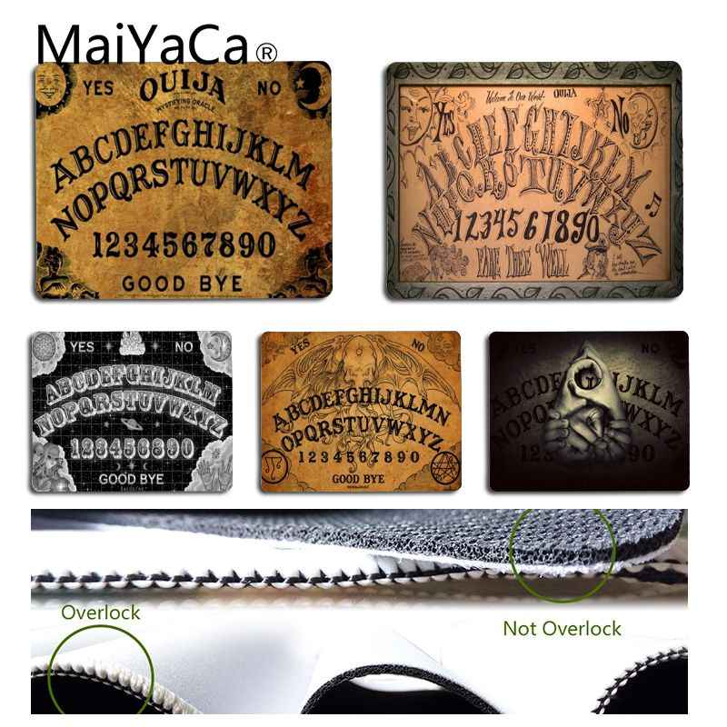 MaiYaCa In Stocked ouija board Professional Mouse Pad Small Size Computer desktop Game Mouse Pad