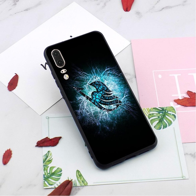 Fairy Tail Case for Huawei Mate 20 Cover 10 Pro P8 P20 P10 P9 Lite Mini