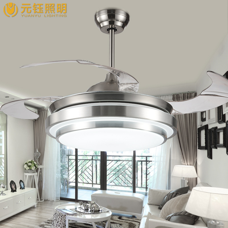 Ceiling Lights & Fans Lovely Colorful Country Wooden Leaf Iron Led Ceiling Fan With Remote Control For Bedroom Childrens Room Dining Room 2203