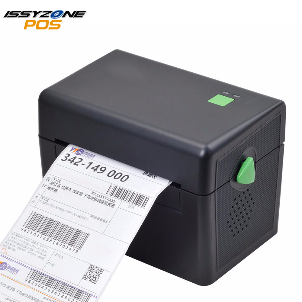 ITPP072 High Quality 108mm 4 Inch Thermal Label Barcode Printer USB Port  Delivery Waybill Logistics Supermarket  Free Software