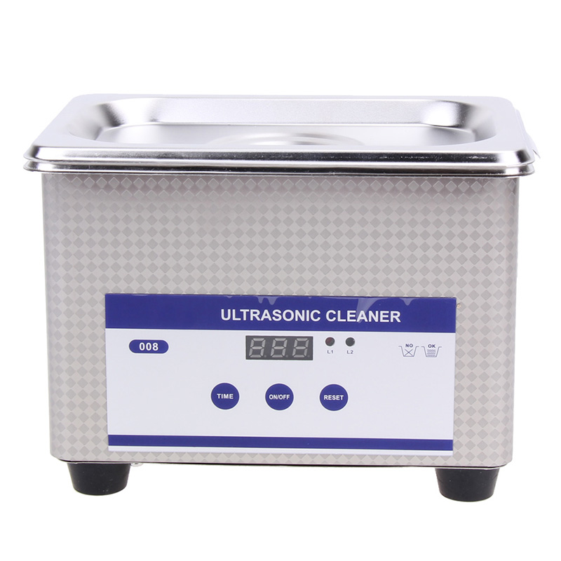 35W 42kHz 800ml Digital Ultrasonic Cleaning Transducer Baskets Jewelry Watches Dental PCB CD Mini Ultrasonic Cleaner Bath dental laboratory equipment 800ml digital ultrasonic bath jewelry glass cleaner cleaning equipment