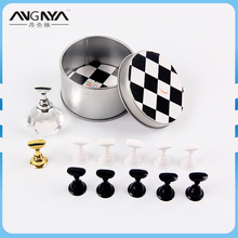 Nail Polish Display Chess Board Magnetic Nail Tip Nail Tips Practice Stand Stuck Crystal Holder Chessboard Design Manicure