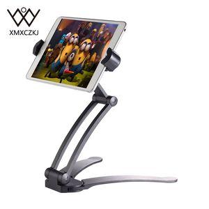 XMXCZKJ Upgrade Tablet phone Holder 2 in 1 Kitchen Desk Mount Adjustable holder Fit For 19cm to 24cm Width Tablet Mobile phone
