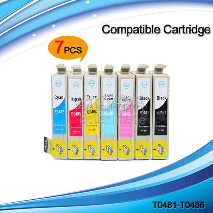 XIMO T0481 T0486 481compatible ink cartridge for RX500 RX600 R300 R300M R220 R200 R340 RX620 R320