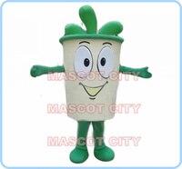 Mascotte bevanda della tazza di caffè del costume della mascotte di fantasia personalizzata costume anime cosplay mascotte fancy dress costume di carnevale 2519