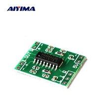 AIYIMA PAM8403 мини цифровой усилитель аудио Плата 2x3 Вт Класс D стерео усилитель мощности 5 в USB источник питания