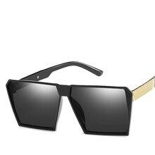 ZXRCYYL Sunglasses Men/Women Brand Designer Square Frame Dri