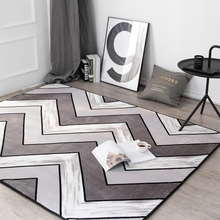 European-style carpet living room modern simple bedroom room bedside blanket sofa coffee table mat American style nordic style large carpet living room sofa coffee table blanket simple modern bedroom room household machine washable