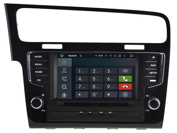 Android7.1.1 2 ГБ dvd-плеер автомобиля для Volkswagen <font><b>VW</b></font> <font><b>Golf</b></font> 7 2013-2015 gps-навигация Радио стерео головного устройства мультимедиа ленты рекордер