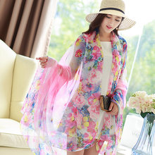 2ea4436c2bac 196 146 cm plus size Hot sale Mulher Cachecol Impressão Mulheres Hijab  Lenços Moda Chiffon