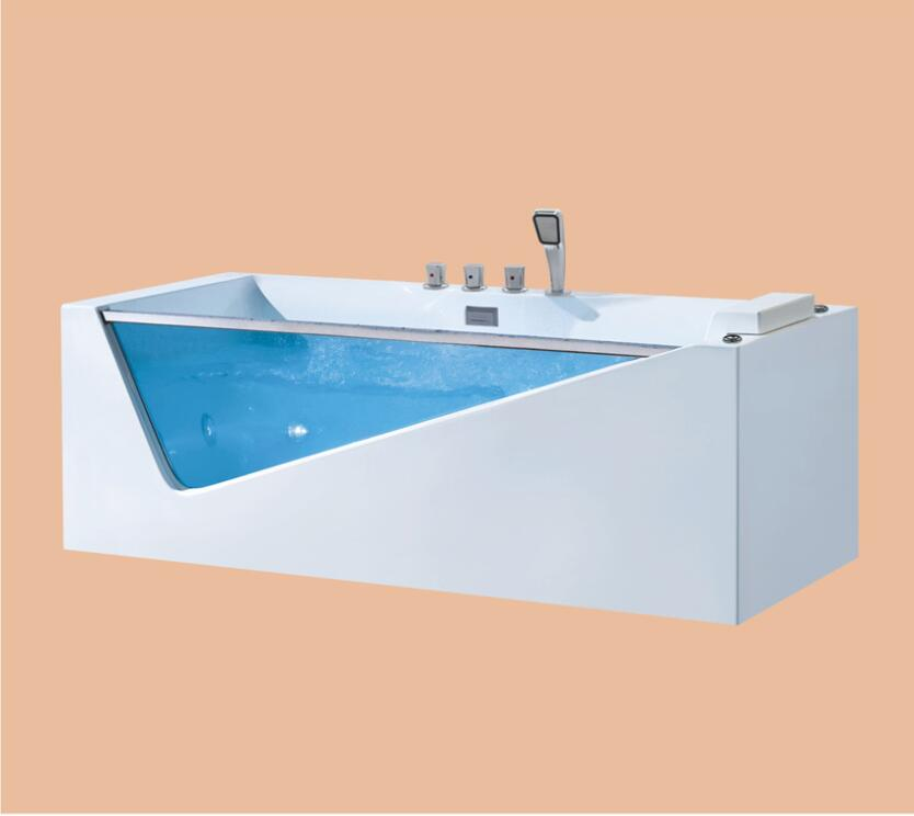 Fiberglass whirlpool Bathtub Acrylic With ABS composite board Piscine massage Waterfall Tub NS3029