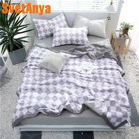 Svetanya Teens Boys Throws Blanket 100 Cotton Quilt twin single double queen size