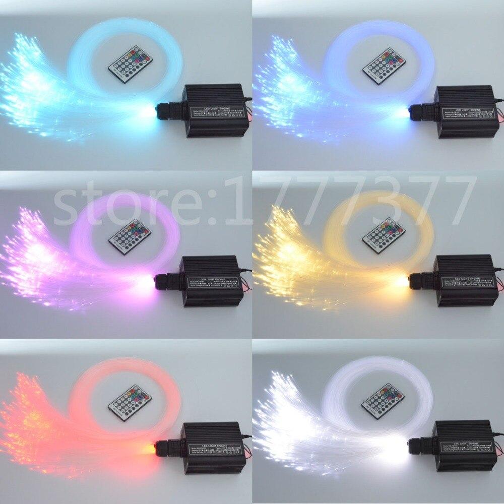 DIY RGBW LED plastik Fiber Optik Satar Tavan Dəsti İşıq 150pcs * - Ticarət işıqlandırması - Fotoqrafiya 2