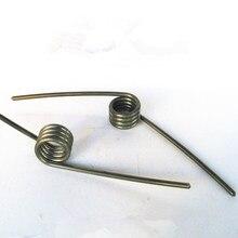 Ressorts de Torsion personnalisés en acier pour meubles, 10 pièces, fil de 2mm de diamètre x 14.5mm de diamètre x (40-90)mm de longueur