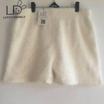 Pantalon tricoté en cachemire vison d'hiver pour femmes lovelyâne livraison gratuite M675