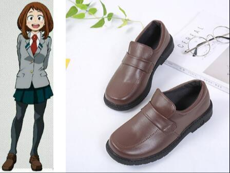 My Hero Academia Boku no Hero Academia Jirou Kyouka Cosplay SHOES  OCHACO URARAKA cosplay shoes Asui Tsuyu COSPLAY SHOES
