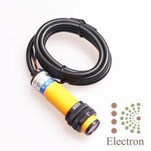 E3F-DS10C4 фотоэлектрический Датчик Переключатель 10-30 В 3 Провода Difuse Тип NPN NO для 3D Принтера Новый