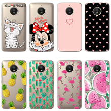 53918d7908b Flamingo caso para Motorola Moto C Z Z2 G4 jugar E4 G5S más G3 funda de  silicona
