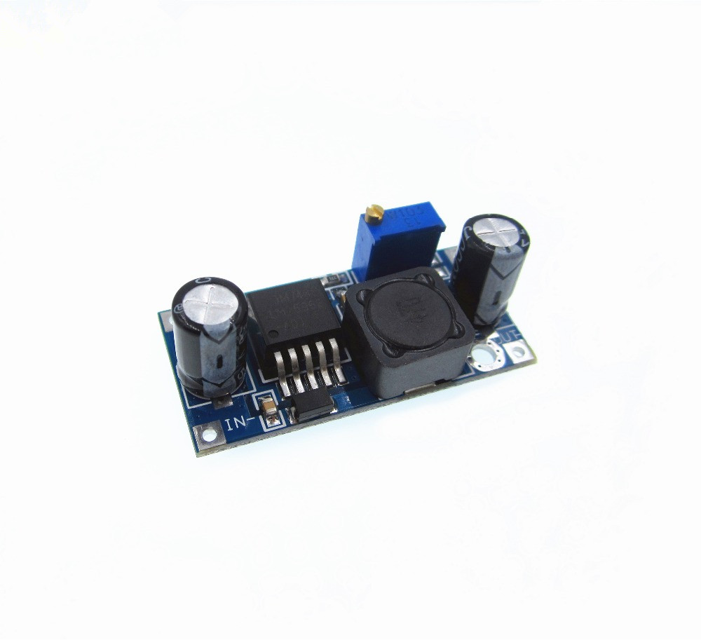 цена на 1pcs/lot LM2596S LM2596 LM2596 ADJ DC-DC Step-down module 5V/12V/24V adjustable Voltage regulator 3A(green) D