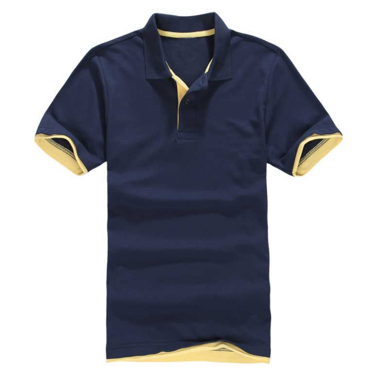 2019 New Men's  Shirt Men Cotton Short Sleeve shirt Summer Casual Short Sleeve shirt Clothes jerseys golftennis Top polo