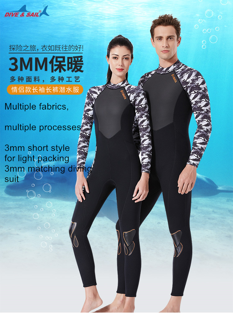 Sports & Entertainment Couples Swimwear Rash Guards Men Women Long Sleeve Shirt Shorts Black Blue Solid Surfing Bathing Suit Rashguard Wetsuit 2 Piece