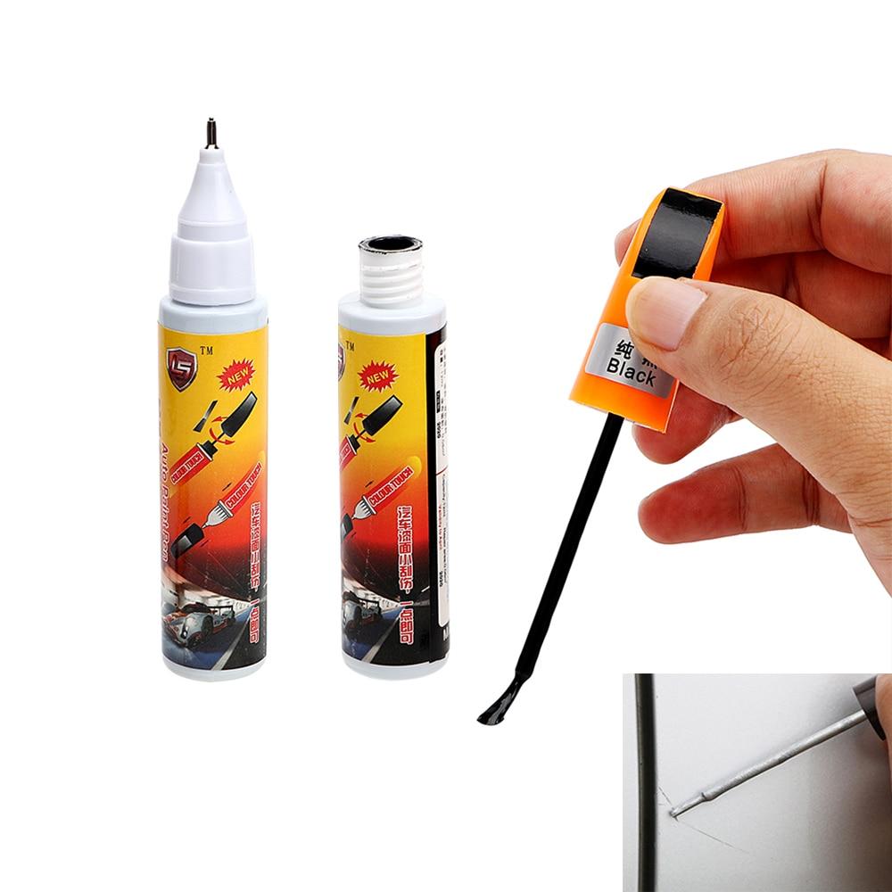 2Pcs 2 in 1 Fix it Pro Paint Care Car Scratch Repair Auto Paint Pen Auto Care Magic Maintenance Paint Care Car-styling 4 Colors