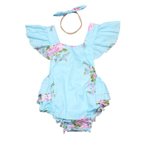 Baby Clothing 2017 New Baby Girl Newborn Clothes Romper Sleeveless Jumpsuits Infant Product Baby Rompers Summer