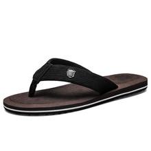 купить Men Slippers Fashion Beach Flip Flops Mens Slippers EVA Casual Men Shoes Summer Sapatos Masculino Non-slip Shoes Plus Size 48 по цене 911.41 рублей