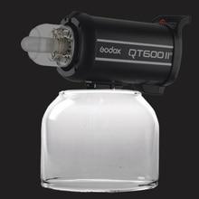 Godox Flash Ban Đầu Ánh Sáng Glass Bìa Dome Đèn Nắp Bảo Vệ cho Godox QT/QS/GT/GS/ nhanh hơn Loạt Phòng Thu Ảnh Nhấp Nháy