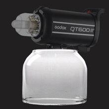 Godox Originele Flitslicht Glass Cover Dome Lamp Protector Cap voor Godox QT/QS/GT/GS/ sneller Serie Studio Foto Strobe