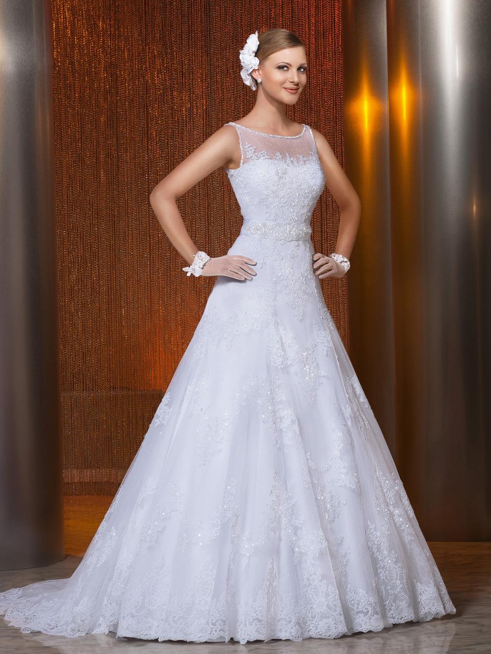 Vestido De Noiva 2015 Vintage Wedding Dress Summer...