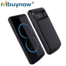 Батарея Зарядное устройство чехол для Samsung Galaxy S8 плюс 5000 мАч 5500 мАч Запасные Аккумуляторы для телефонов внешнего резервного Батарея зарядки чехол для Galaxy S8