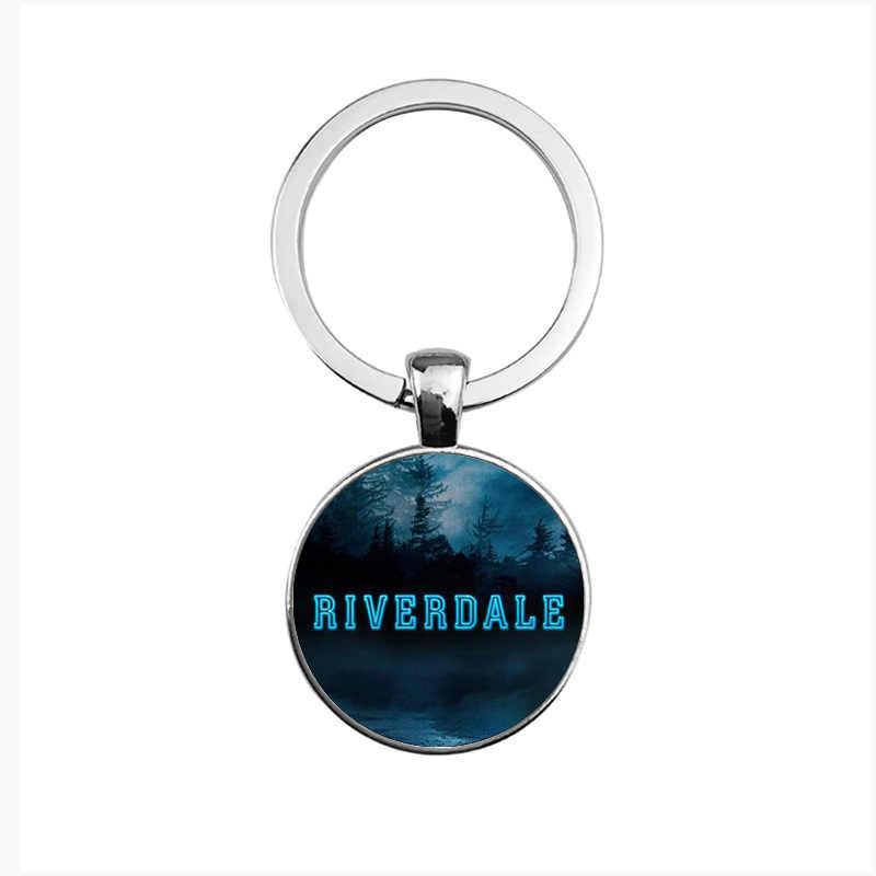 2019 Nieuwe Mode Riverdale sleutelhanger Glas Cabochon sleutelhangers Paar Kettingen Hangers Vrouwen Mannen Sieraden Avengers thanos