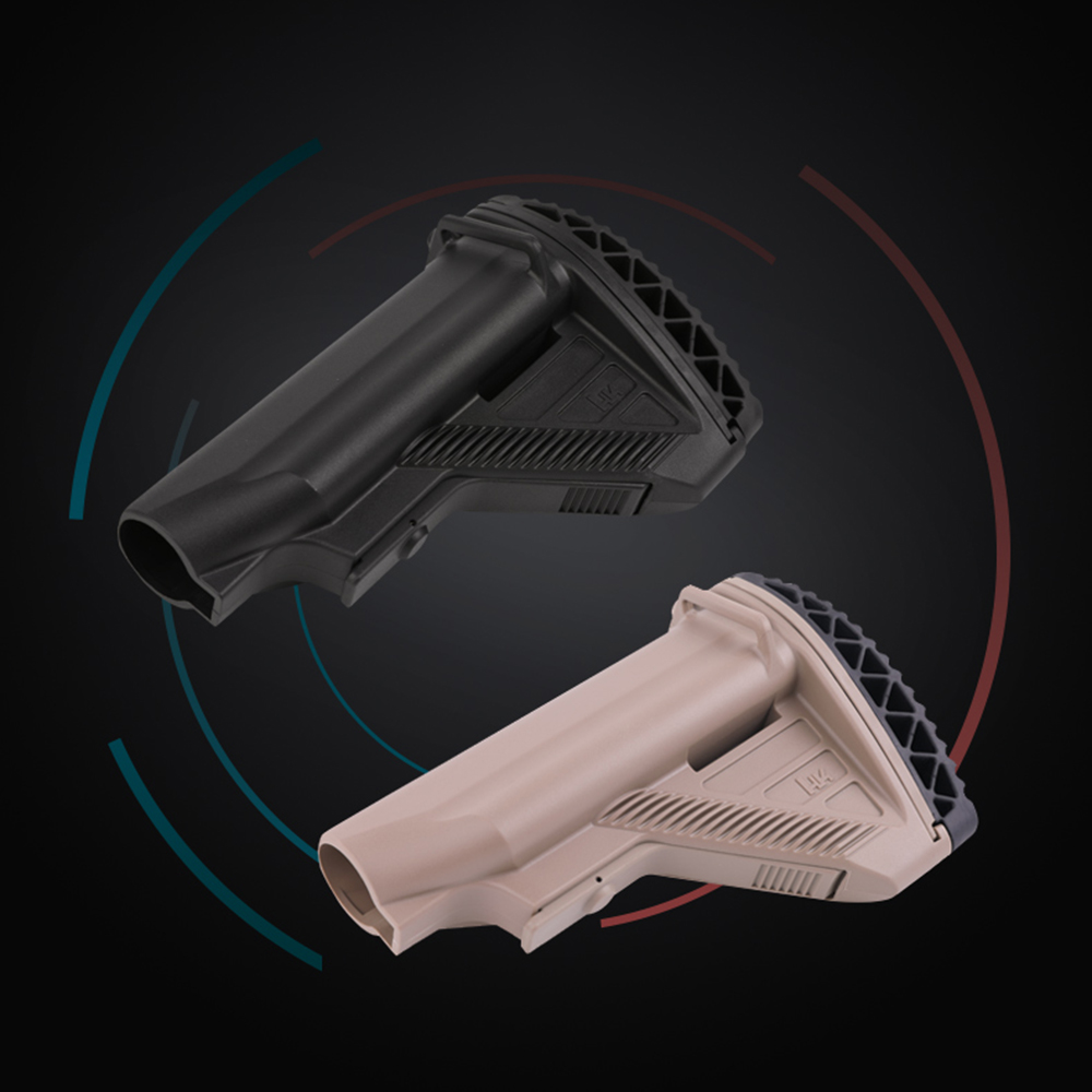 Anti Slip 416 Nylon Stock Minimalist Tactical Rife Mil-spec For Gel Blaster Paintball Airsoft Air Guns Accessories