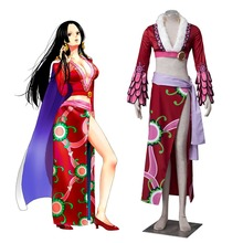 "ONE PIECE ""Pirate Empress"" Boa Hancock Cosplay Costume Deluxe Snake Princess Dress Sexy Costume Halloween Costumes for Women"