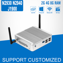 Intel Celeron J1900 Quad Core Mini PC DDR3 8GB Windows 10 Mini Computer Celeron N2930 N2940 Fanless Barebone HDMI Desktop PC