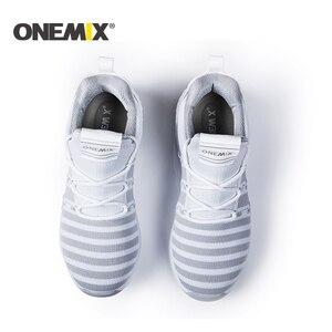 Image 5 - ONEMIX Với Chạy Bộ Nữ Ấm Áp Tăng Chiều Cao Giày Thể Thao Mùa Đông Cho Nữ Ngoài Trời Unisex Thể Thao Giày Thể Thao