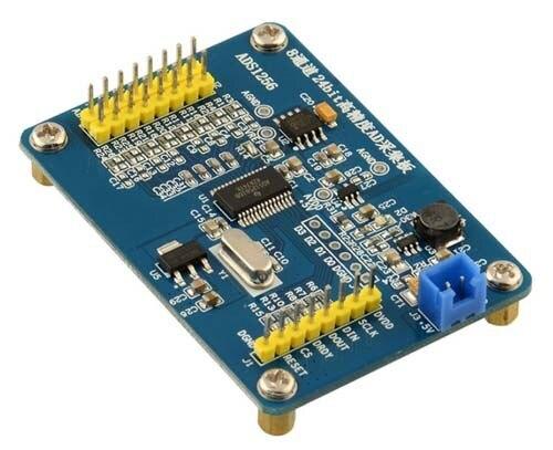 ADS1256 Модуль 24 Бит АЦП AD Модуль Аналого-Цифрового Преобразования высокоточных АЦП Сбора Данных Карты