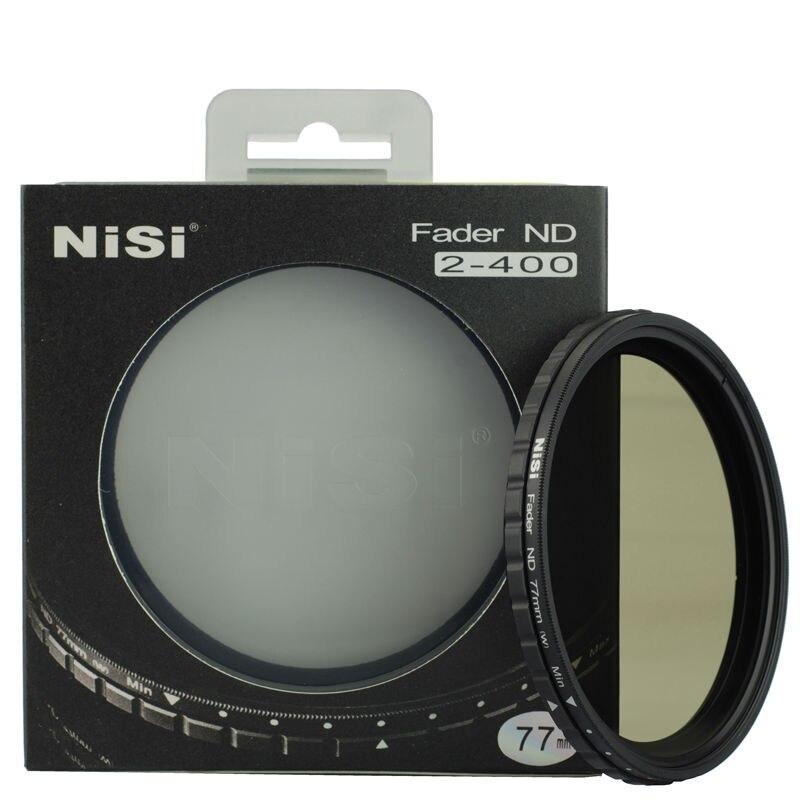 NIIS 72mm fader densité neutre Variable ND filtre à ND2-ND400 réglable comme Nicna pour canon 85 1.2 35 1.4nikon24-85 16-80 Samsung