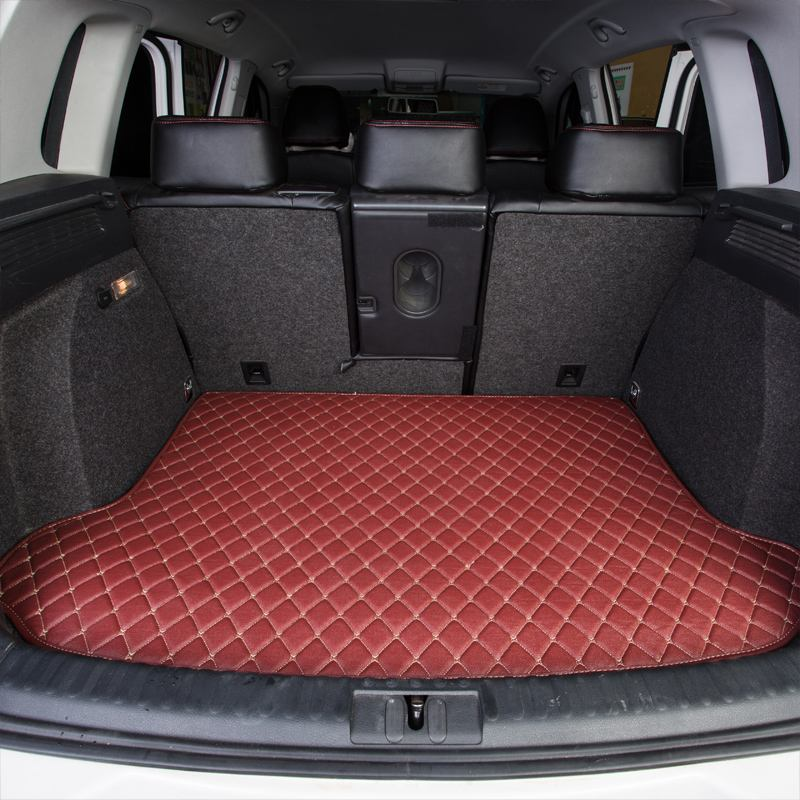 Leather Car Trunk Mat Cargo Carpet For Subaru Forester