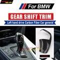 Auto Zubehör Carbon Schaltknauf Abdeckung Schalthebel Shifter Aufkleber Für BMW 6 Series F06 F12 F13 Für Links hand stick-in Schaltknopf aus Kraftfahrzeuge und Motorräder bei