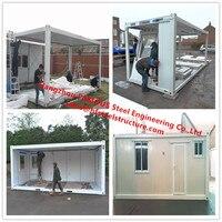 럭셔리 장식 조립식 집 모바일 모듈 형 집 욕실/주방/세면대/침실 판매